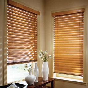 "McWoods FauxWood 2"" Blinds Sweden,USa"