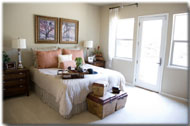 Mcwoods Bedroom design and color choices for comfort and class