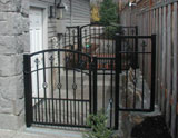 McWoods GateGarden Design Metal Or Aluminum